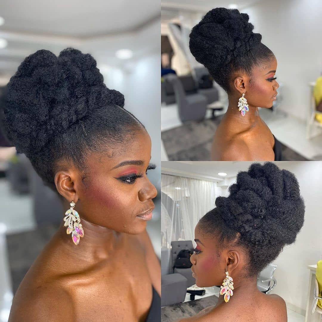 Stunning Hairstyles For Nigerian Brides this 2020 hairstyleforblackwomen.net 13