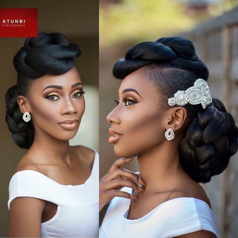 Stunning Hairstyles For Nigerian Brides this 2020 hairstyleforblackwomen.net 19