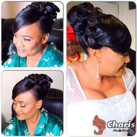 Stunning Hairstyles For Nigerian Brides this 2020 hairstyleforblackwomen.net 23