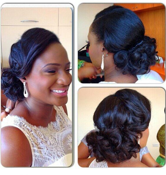 Stunning Hairstyles For Nigerian Brides this 2020 hairstyleforblackwomen.net 24