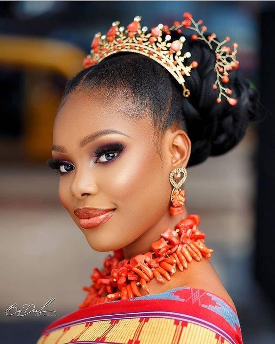 Stunning Hairstyles For Nigerian Brides this 2020 hairstyleforblackwomen.net 28