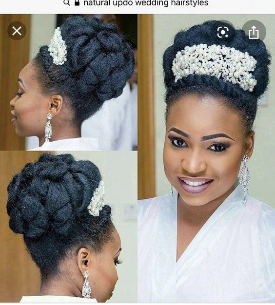 Stunning Hairstyles For Nigerian Brides this 2020 hairstyleforblackwomen.net 31