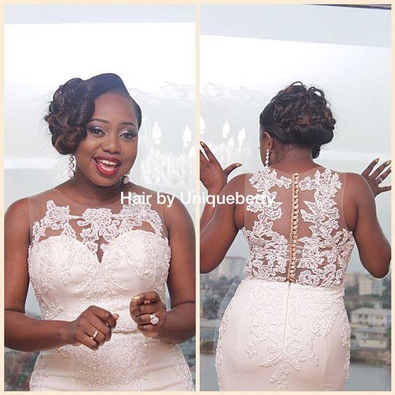 Stunning Hairstyles For Nigerian Brides this 2020 hairstyleforblackwomen.net 34