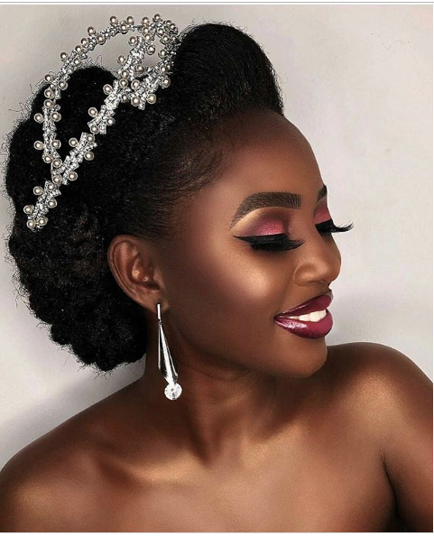 Stunning Hairstyles For Nigerian Brides this 2020 hairstyleforblackwomen.net 38