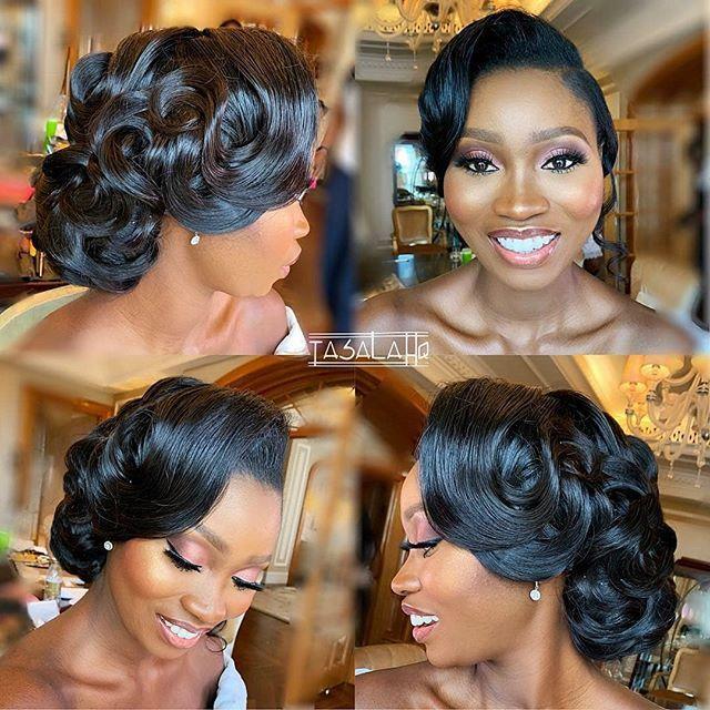 Stunning Hairstyles For Nigerian Brides this 2020 hairstyleforblackwomen.net 39
