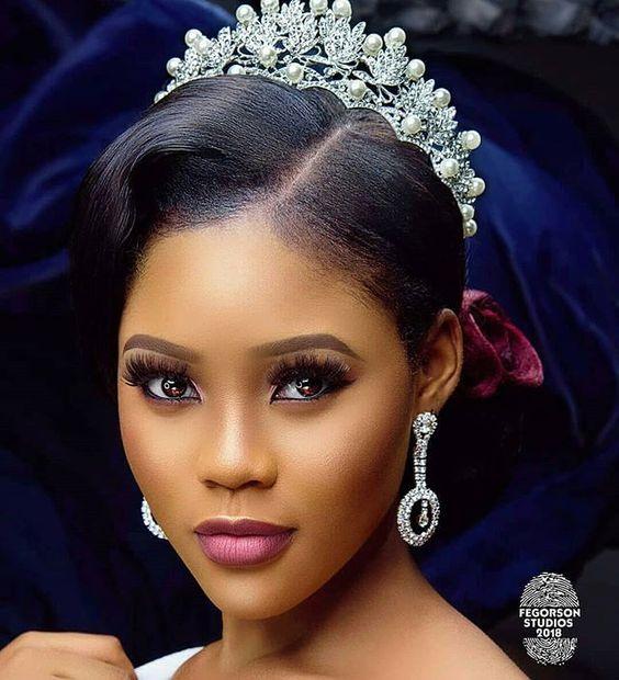 Stunning Hairstyles For Nigerian Brides this 2020 hairstyleforblackwomen.net 43