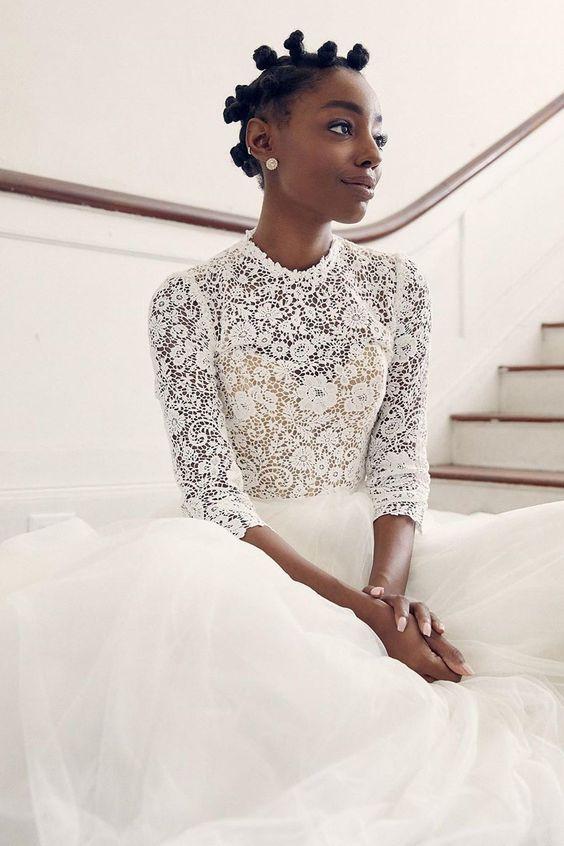 Stunning Hairstyles For Nigerian Brides this 2020 hairstyleforblackwomen.net 46