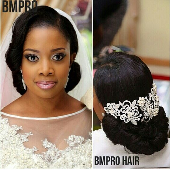 Stunning Hairstyles For Nigerian Brides this 2020 hairstyleforblackwomen.net 47