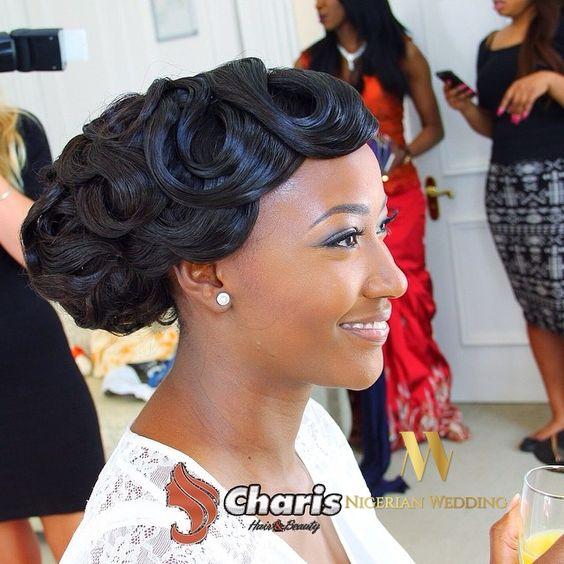 Stunning Hairstyles For Nigerian Brides this 2020 hairstyleforblackwomen.net 56