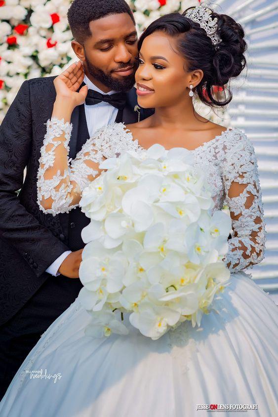 Stunning Hairstyles For Nigerian Brides this 2020 hairstyleforblackwomen.net 59