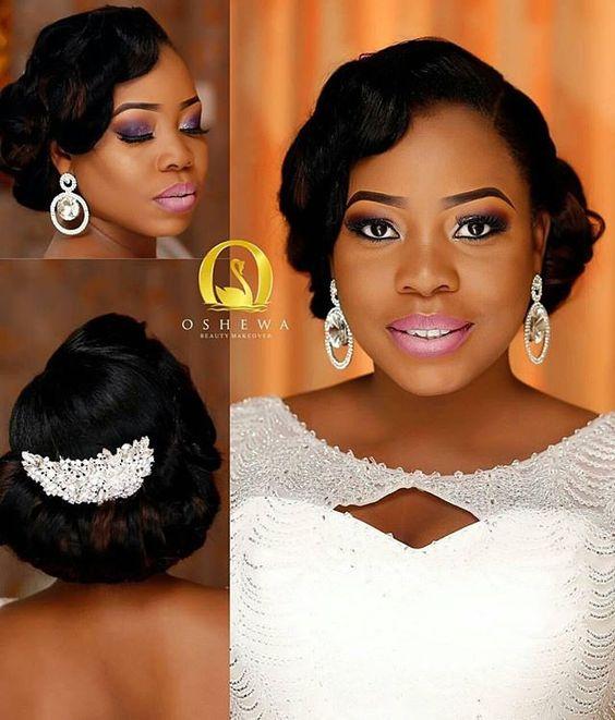 Stunning Hairstyles For Nigerian Brides this 2020 hairstyleforblackwomen.net 62
