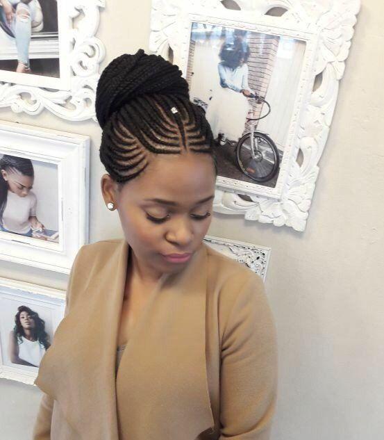 Stunningly Cute Ghanaian Braids Styles For 2019 Wedding Digest Naija Blog 1