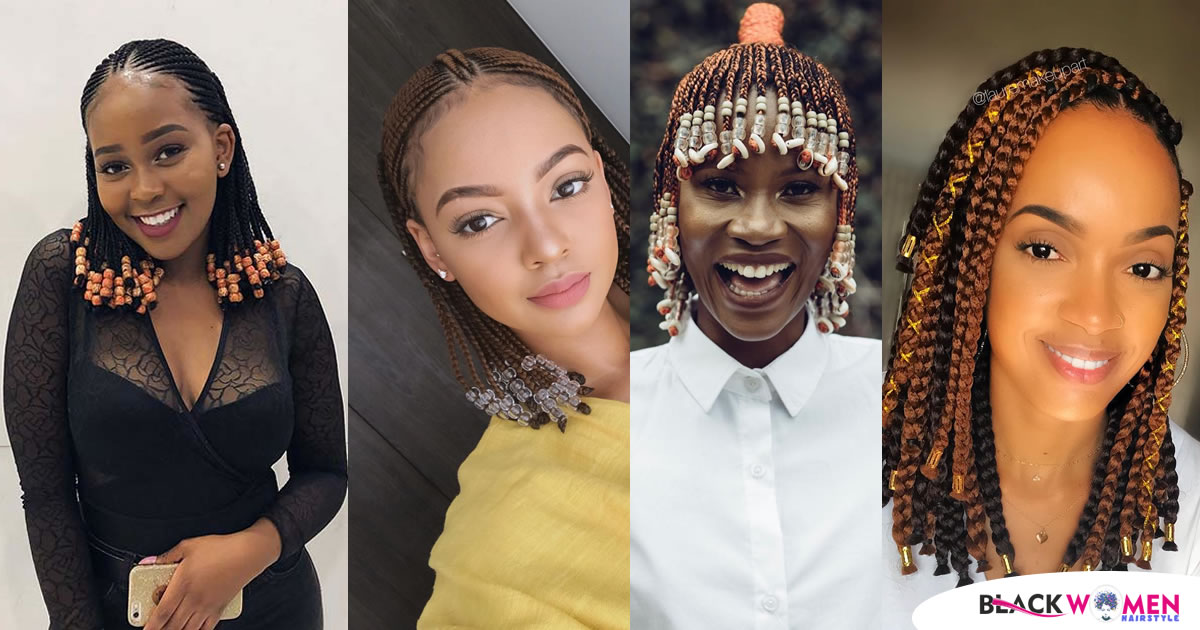 These 30 Short Fulani Braids With Beads Are Giving Us Life in 2021