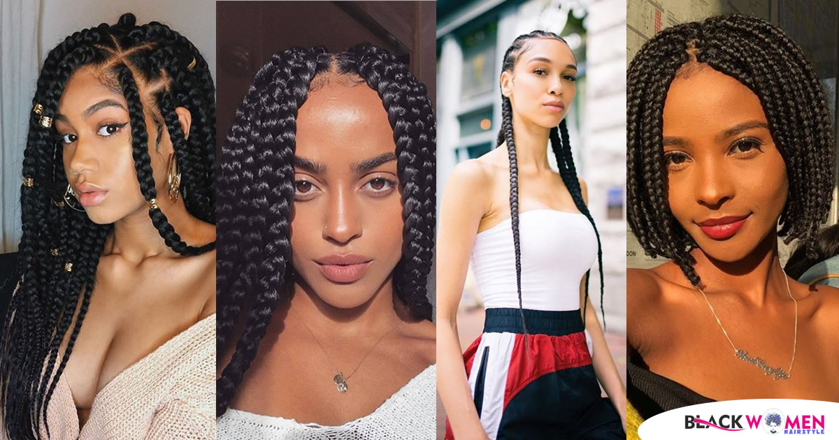 125 Trending Braid Styles for Black Women To Try Now