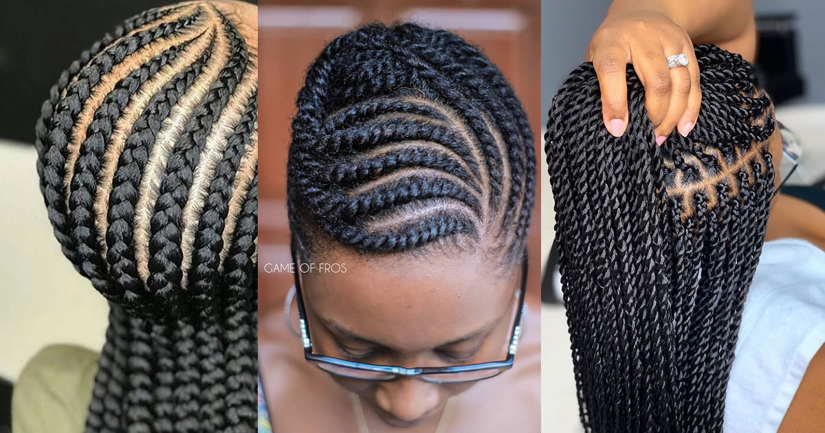Use This Natural Mask To Shine Your Braids