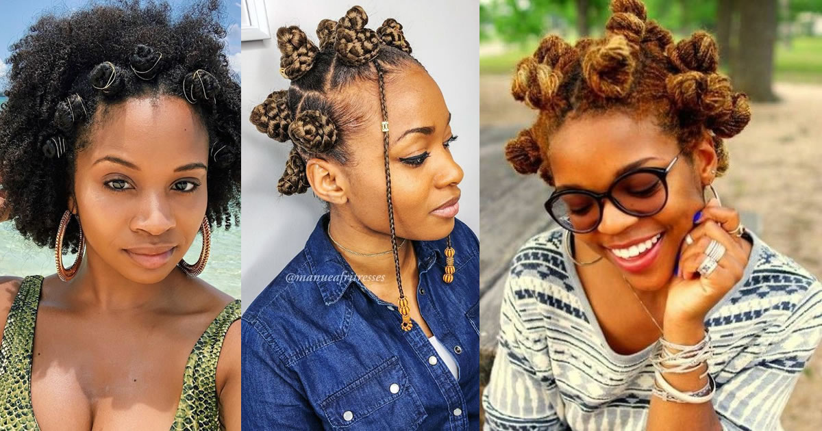 We are Catching the Trends of this Year with Bantu Knots