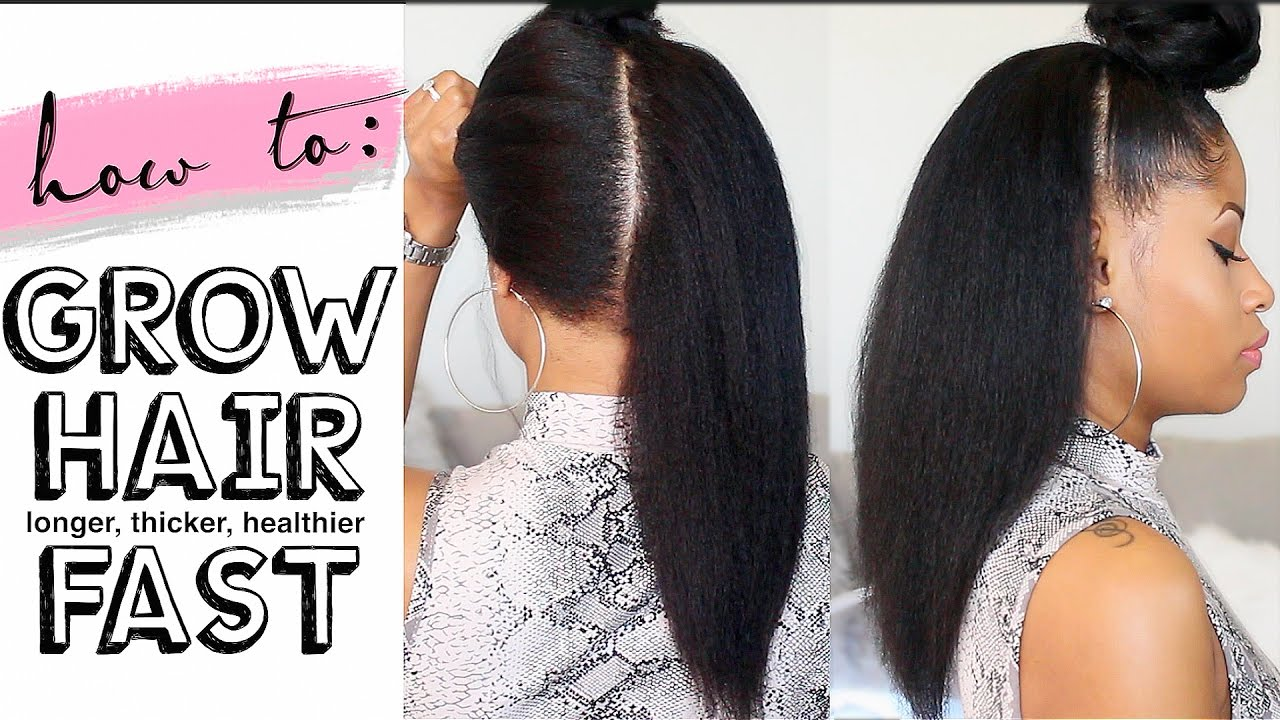 10 Simple Ways to Make Your Hair Grow Faster
