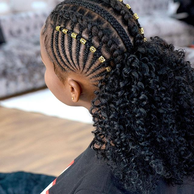 1597836333 123 Latest Braid Hairstyles For Black Women to Try in 2020