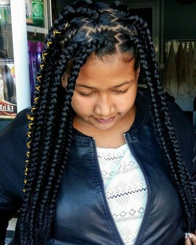 1597836333 34 Latest Braid Hairstyles For Black Women to Try in 2020