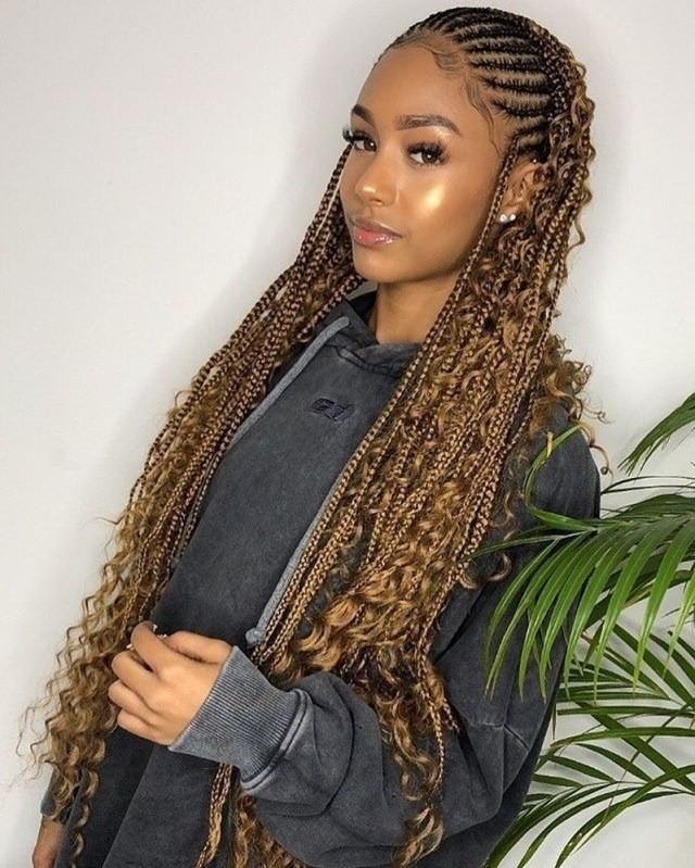 1597836333 460 Latest Braid Hairstyles For Black Women to Try in 2020