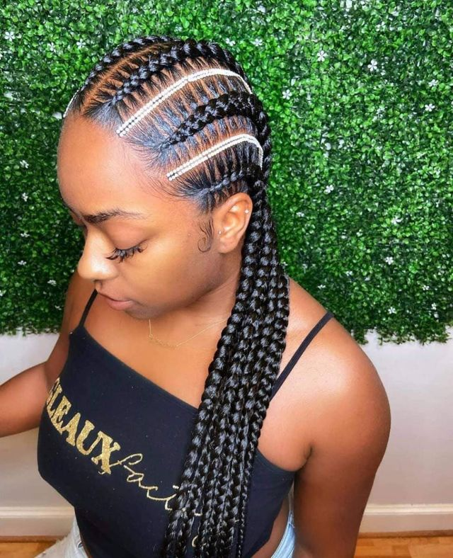 1597836333 817 Latest Braid Hairstyles For Black Women to Try in 2020