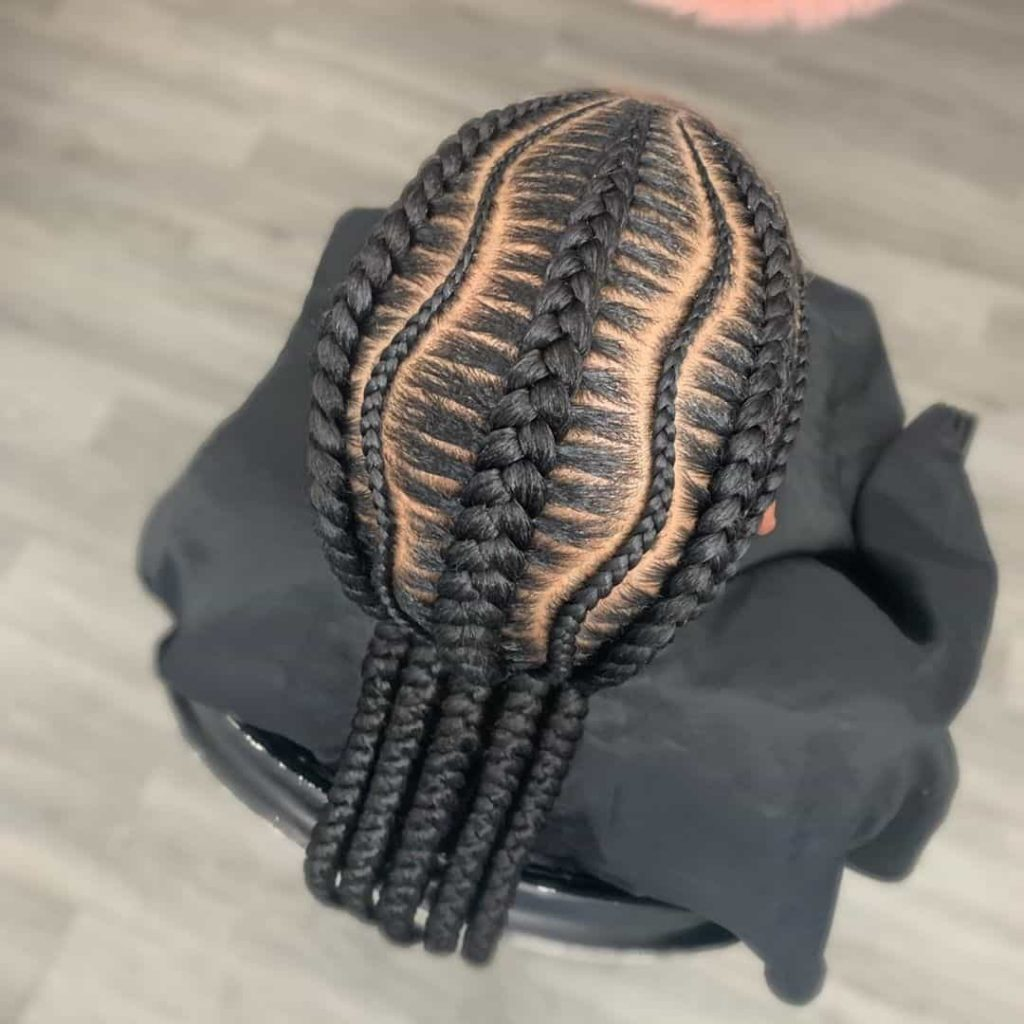 19 PHOTOS Splendid Box Braids For Ladies Black Braided Hairstyles 10 1024x1024 1