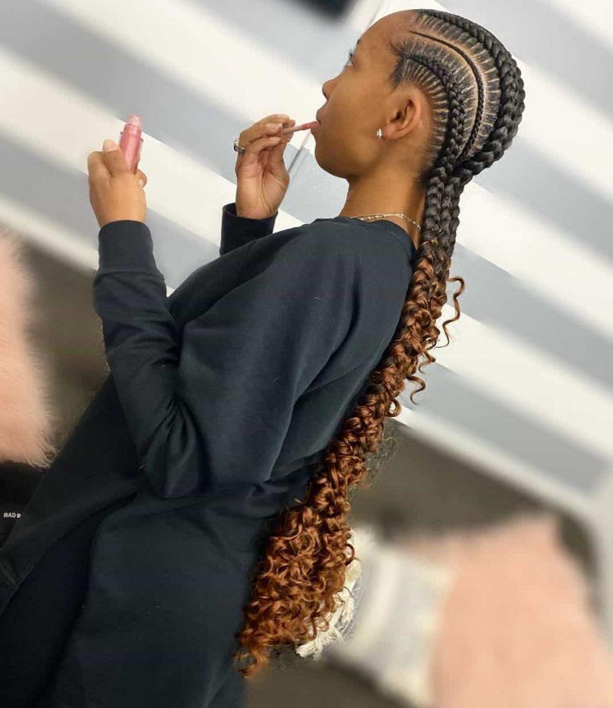 19 PHOTOS Splendid Box Braids For Ladies Black Braided Hairstyles 13 886x1024 1