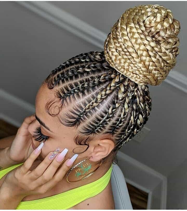 19 PHOTOS Splendid Box Braids For Ladies Black Braided Hairstyles 2