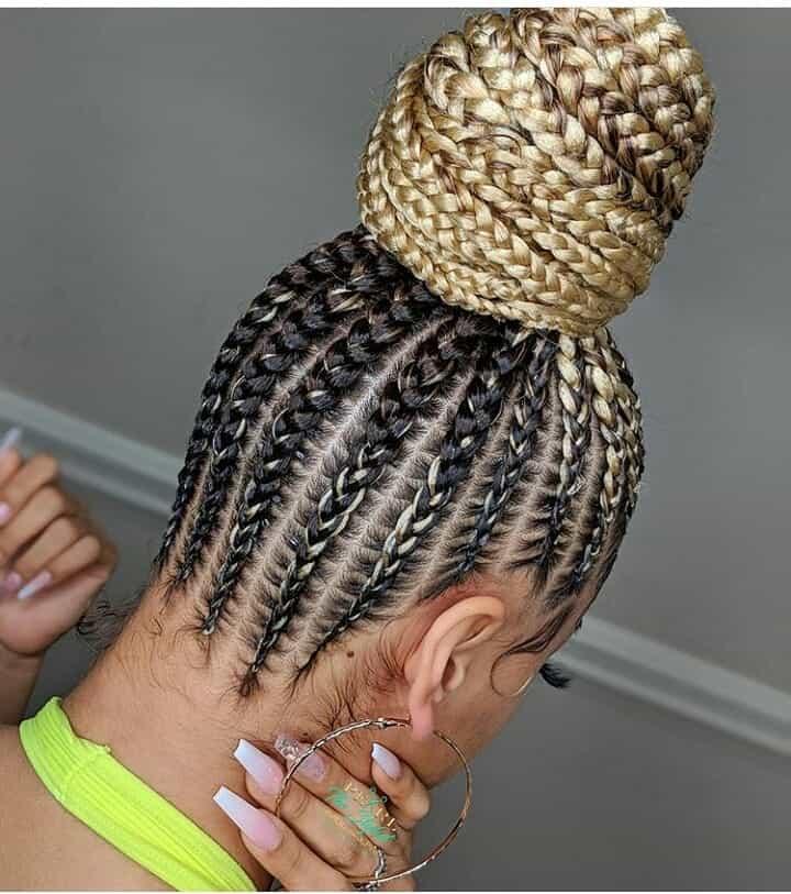 19 PHOTOS Splendid Box Braids For Ladies Black Braided Hairstyles 5