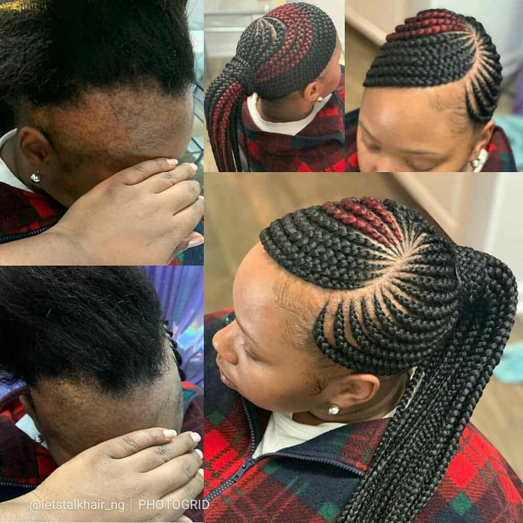 19 PHOTOS Splendid Box Braids For Ladies Black Braided Hairstyles 7