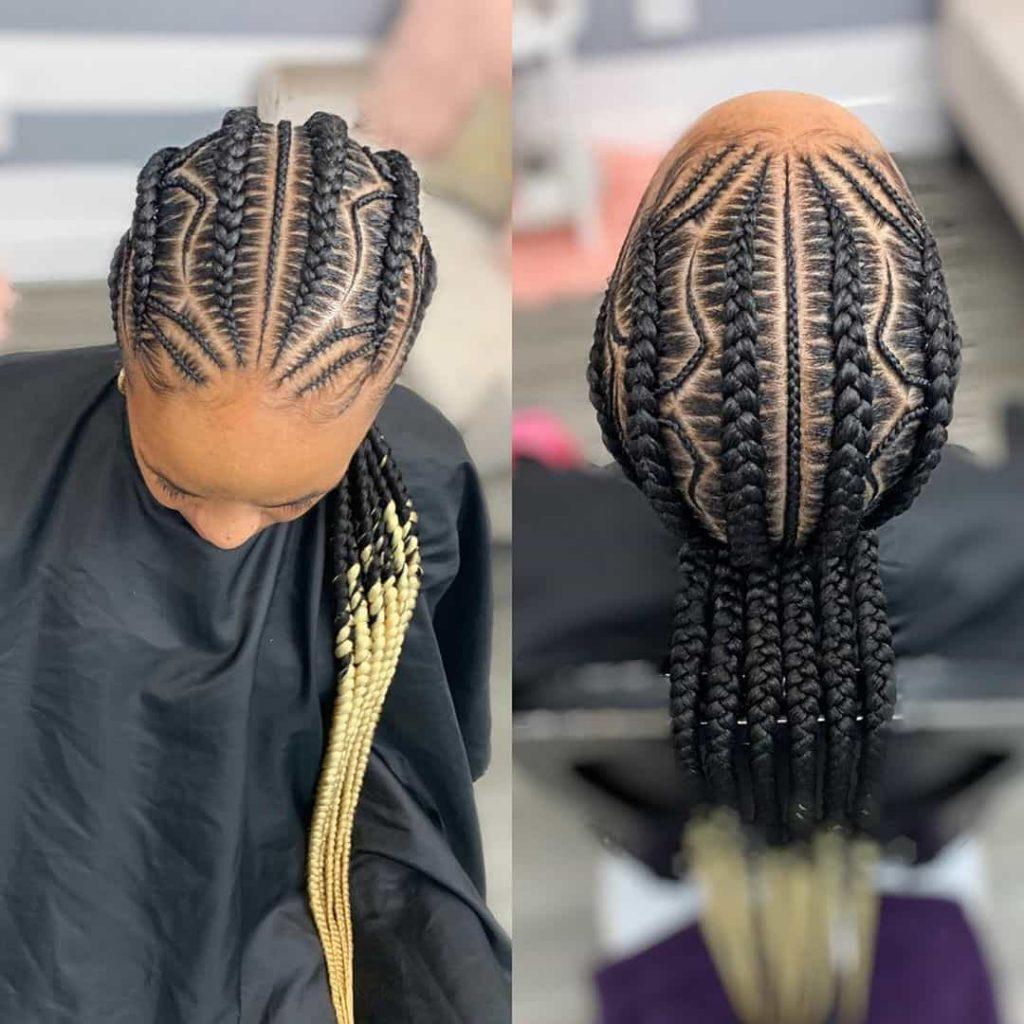 19 PHOTOS Splendid Box Braids For Ladies Black Braided Hairstyles 9 1024x1024 1
