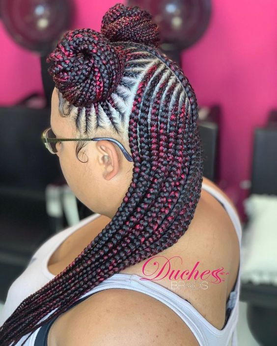 2019 African braided Hairstyles Trend For New Look 14