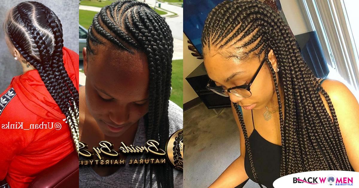 25 Classy Cornrows Braids for Black Women