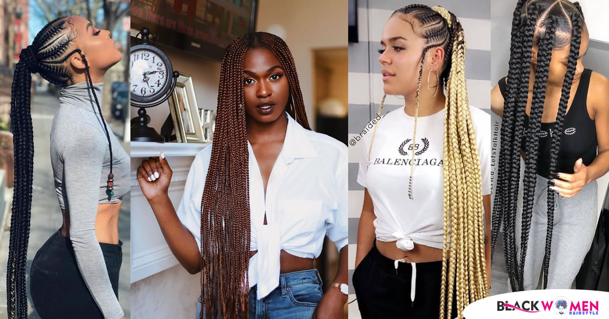 50 Amazing African Braid – Black Braid Hairstyles for the 2020 Ladies