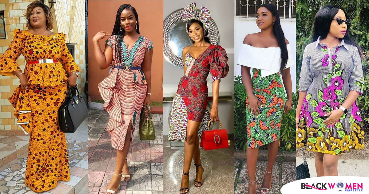 50 Best Women Ankara Styles For Church and Wedding 2020