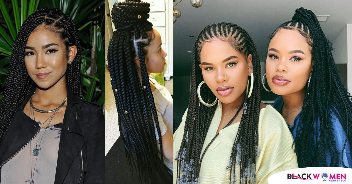 50 Hot & New Protective Braid Styles for Natural Hair