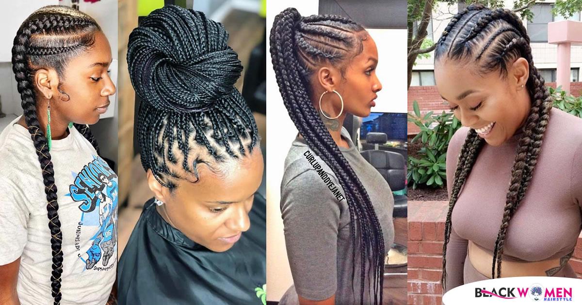 75 Most Beautiful Styles Of Ghana Braids