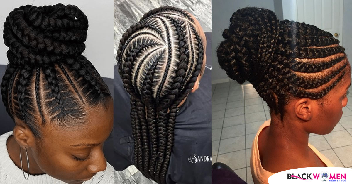 90 Gorgeous and Intricate Ghana Braids That You Will Love
