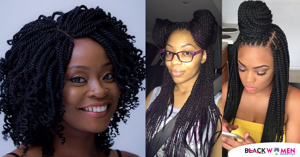 95 Best Twist Braids Styles and Pictures on How to Wear Them