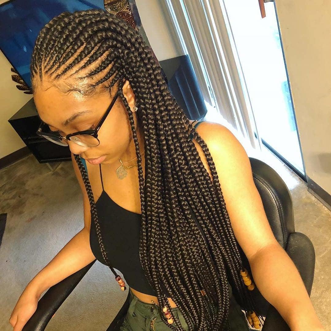 Classy Cornrows Braids for Black Women hairstyleforblackwomen.net 2