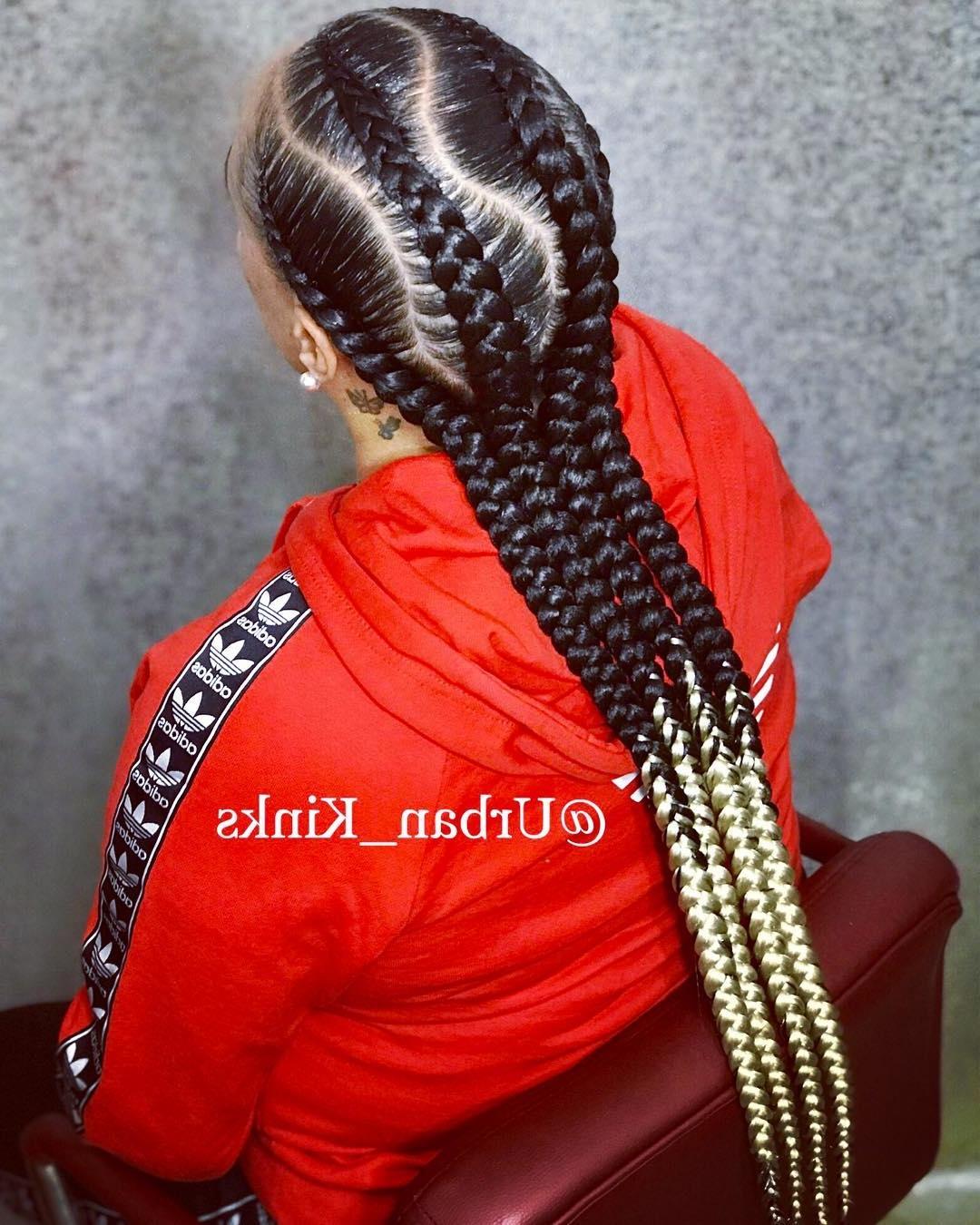 Classy Cornrows Braids for Black Women hairstyleforblackwomen.net 23