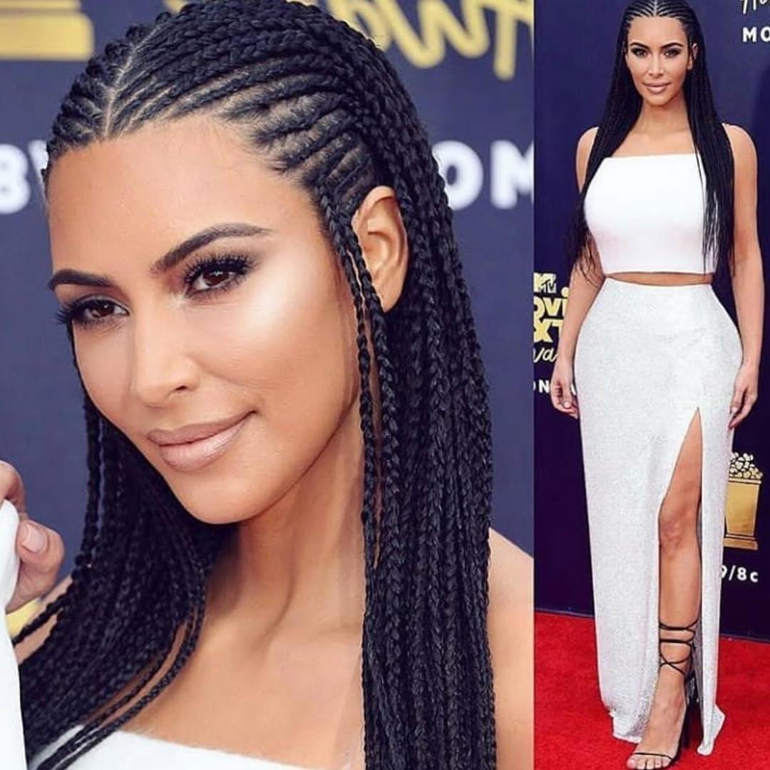 Classy Cornrows Braids for Black Women hairstyleforblackwomen.net 3