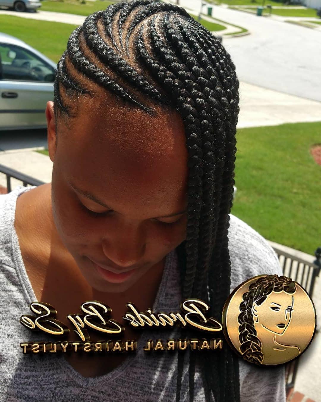 Classy Cornrows Braids for Black Women hairstyleforblackwomen.net 6