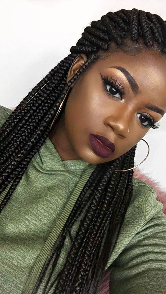 60 Amazing African Hair Braiding Styles for Women with Images