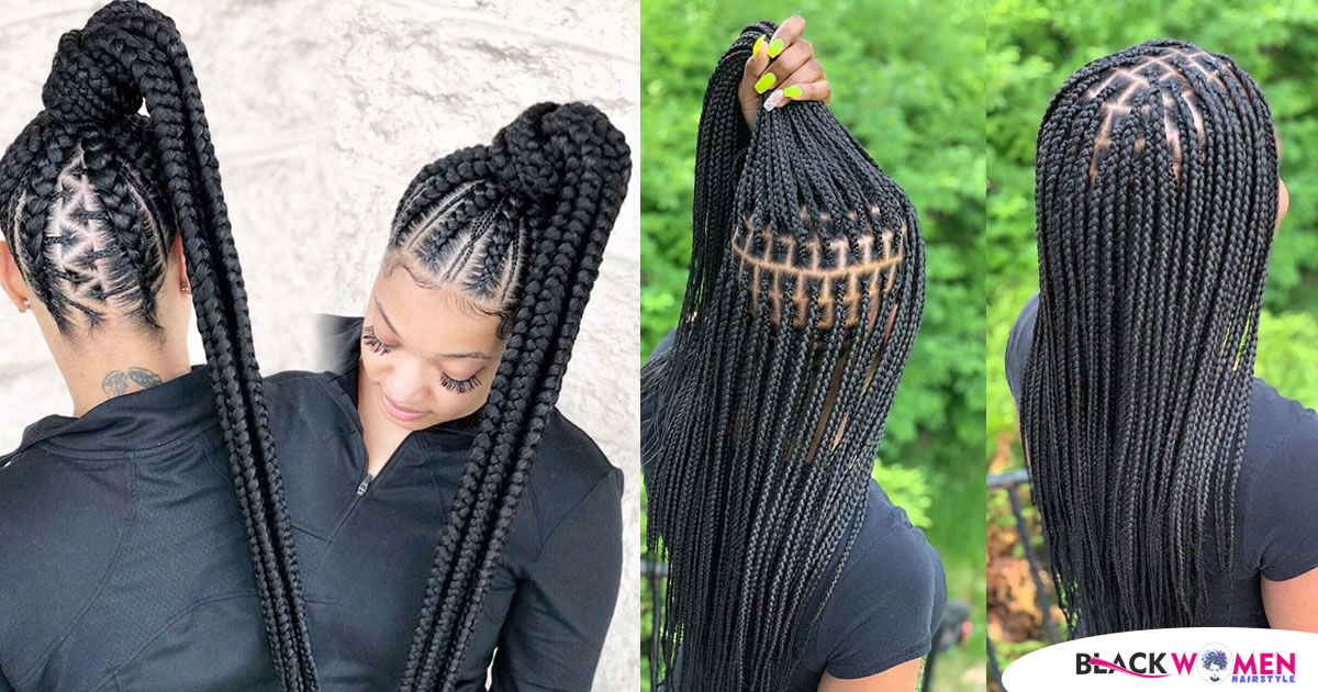 50 Ghana Braids Check Out These Most Beautiful Styles