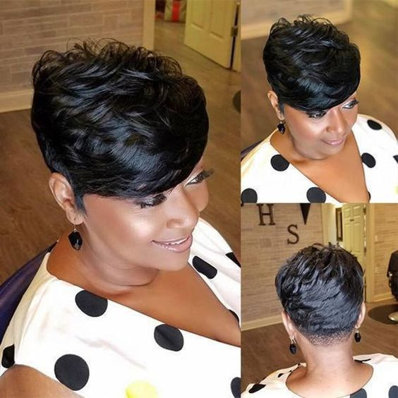 Lace Frontal Wigs real hair wigs bob wigs Natural lace front bob haircut with bangs