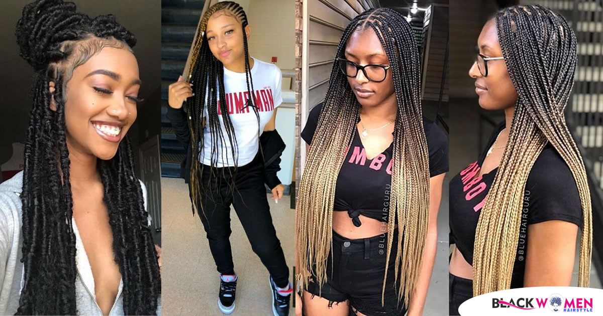 Ladies! Have You Tried These Latest Ghana Weaving Hairstyles?