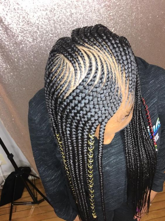 Latest Ghana Weaving hairstyleforblackwomen.net 652