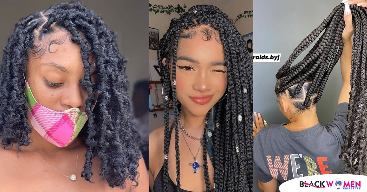 Pretty cool Braided Hairstyles Perfect Protection Hairstyle for Natural Hair