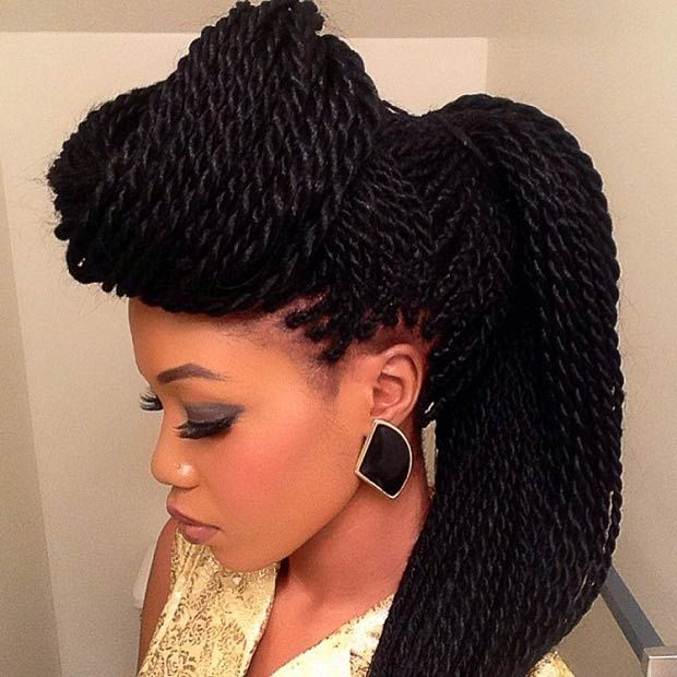 Twist Braids Hairstyles hairstyleforblackwomen.net 47